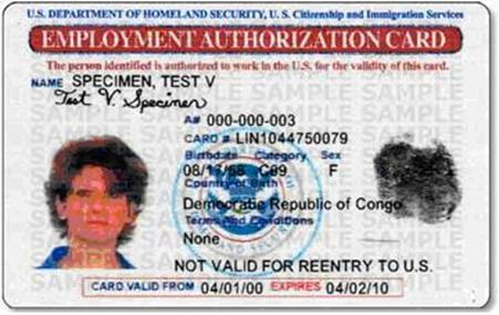 Uscis Issues Revised Employment Authorization Document Mithras Law